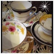Starburst Teacups